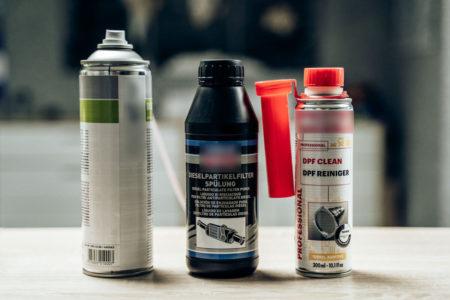 Chemische Reinigunsmittel & Additive für Dieselpartikelfilter