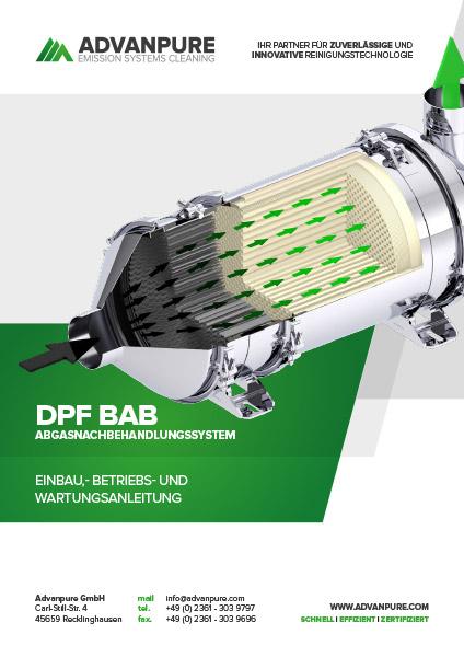 DPF BAB Betriebsanleitung